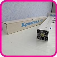 Облучатель-рециркулятор Кристалл-2 ОБНР настенный 2х11 с лампами
