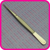 Пинцет хирургический глазной прямой 150 мм (37-617, п-86)