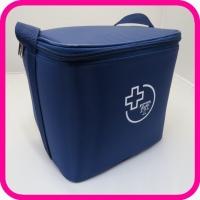 Сумка-холодильник медицинская с хладоэлементами и электронным индикатором, 1 л