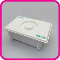 Емкость - контейнер для дезинфекции ЕДПО-3-01 (УЦЕНКА - сколы на крышке)