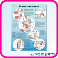Плакат медицинский ОСНОВЫ РЕАНИМАЦИИ