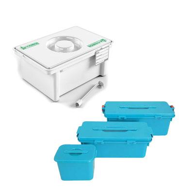 Контейнеры для дезинфекции и утилизации