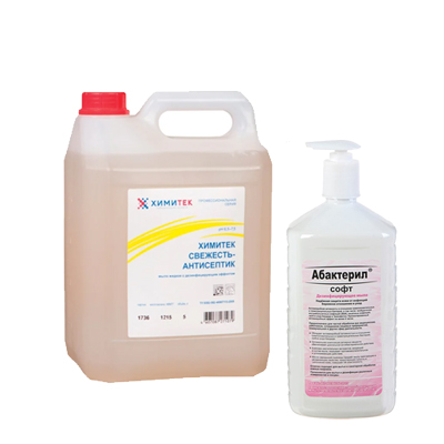 Мыло с антибактериальным эффектом