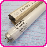 Лампа Philips TL 20W/52 G13 SLV/25 ультрафиолетовая люминесцентная (для лечения желтушки)