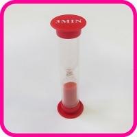 Часы песочные 3 мин (пластиковый корпус)