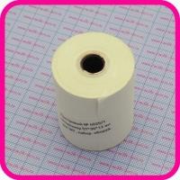 Бумага для ЭКГ 57х30х12 диаграммная 4025/1, сетка внутрь