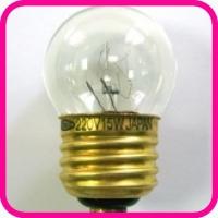 Лампа накаливания HOSOBUCHI 220V 15W E27
