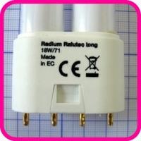 Лампа люминесцентная Radium Ralutec long 18W/71