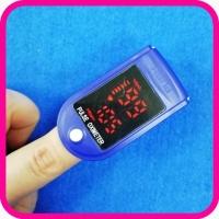 Пульсоксиметр ОКСІ SE-PO-03A портативный на палец, бытовой