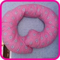 Подушка для беременных Рогалик 340х35 БиоСон (холлофайбер) без наволочки