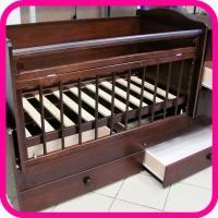 Кровать-трансформер детская с тумбочкой