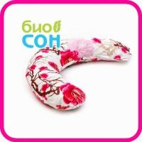 Подушка для беременных формы С 190х35 БиоСон (холлофайбер) без наволочки