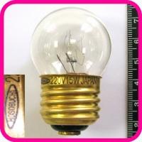 Лампа накаливания HOSOBUCHI 220V 15W E27 (не оригинал)