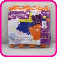 Коврик массажный для стоп М-516 Цветные камешки Тривес