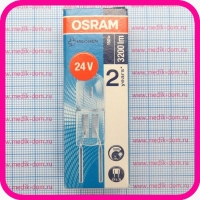 Лампа галогенная OSRAM HALOSTAR 64465-U 24В 150Вт, без отражателя