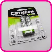 Аккумуляторы Camelion AA Ni-Cd 600mAh 1.2V, 2 шт