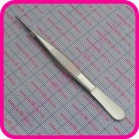 Пинцет анатомический глазной прямой по Грейфу 100х0,6 (37-610)