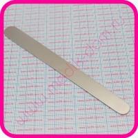 Шпатель для языка металлический прямой, 180 мм М-МИЗ
