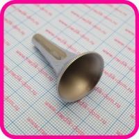 Воронка ушная никелированная №3 (39-100-3 3-40-3)
