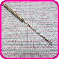 Кюретка для удаления инородных тел по Воячеку 5х9 мм, 143 мм