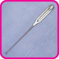 Кюретка для выскабливания слизистой оболочки матки острая №1 (61-820, К-1)