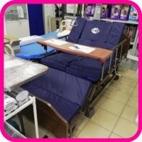 Кровать для лежачего больного с функцией переворачивания, туалетом, матрасом и положением кардио-кресло Е-45А