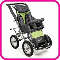 Кресло-коляска для детей с ДЦП Racer прогулочная, с чехлом для ног и капюшоном