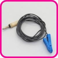 Токопровод 1-контактный с зажимом для ЭЛФОР (синий)