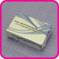Игла хирургическая колющая 5В1-1.1*30 (острие трехгранное)