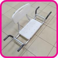 Сиденье для ванной комнаты со спинкой KJT 504 S