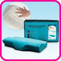 Подушка анатомическая OrtoCorrect Ideal с центральной П-образной выемкой