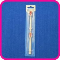 Насадки для электрической зубной щетки CS-465-W CS Medica, 2 шт