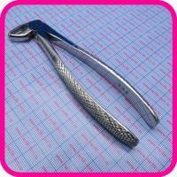 Щипцы для удаления корней зубов нижней челюсти детские 500-33S №33S
