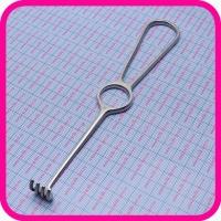 Крючок хирургический тупой четырехзубый К-21 №1