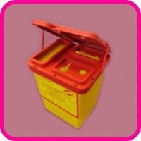 Емкость для сбора колюще-режущих медицинских отходов МК-01; 0,9л, класс Б, В, Г