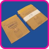 Крафт-пакет для стерилизации 230х280 самоклеящийся с индикатором (100 шт)