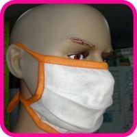 Маска защитная многоразовая для лица тканевая