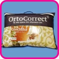 Подушка из гречишной лузги OrtoCorrect Grechiha, 60х40 см