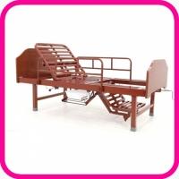 Кровать для лежачего больного с кресельной функцией без роликов E-49