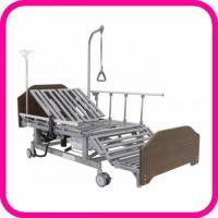 Кровать для лежачего больного с функцией переворачивания, туалетом, матрасом и положением кардио-кресло DB-11A (электро)
