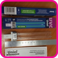 Бактерицидная лампа G23 9W Uniel