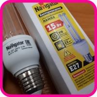 Бактерицидная лампа UVC 15 Вт E27 2H Navigator (14105 NCL-2H)