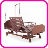 Кровать для лежачего больного 4-х секционная Е-31 WOOD + противопролежневая система