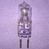 Лампа галогенная (галогеновая) КГМ 24-100 GY6,35